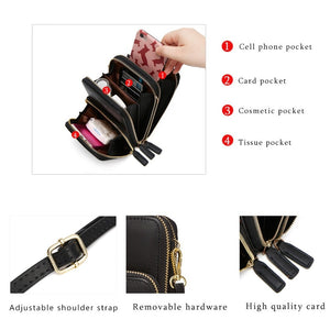 Colorful Fashion Daily Use Card Holder Cellphone Bag - asheers4u