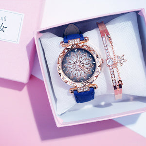 Starry Sky Ladies Bracelet Quartz Party Wristwatch - asheers4u