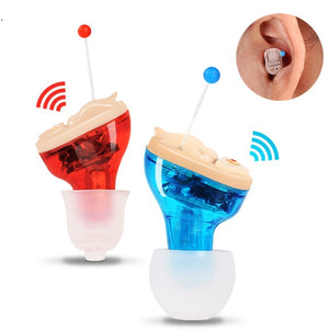 Invisible Mini Hearing Aid Ear Amplifier - asheers4u