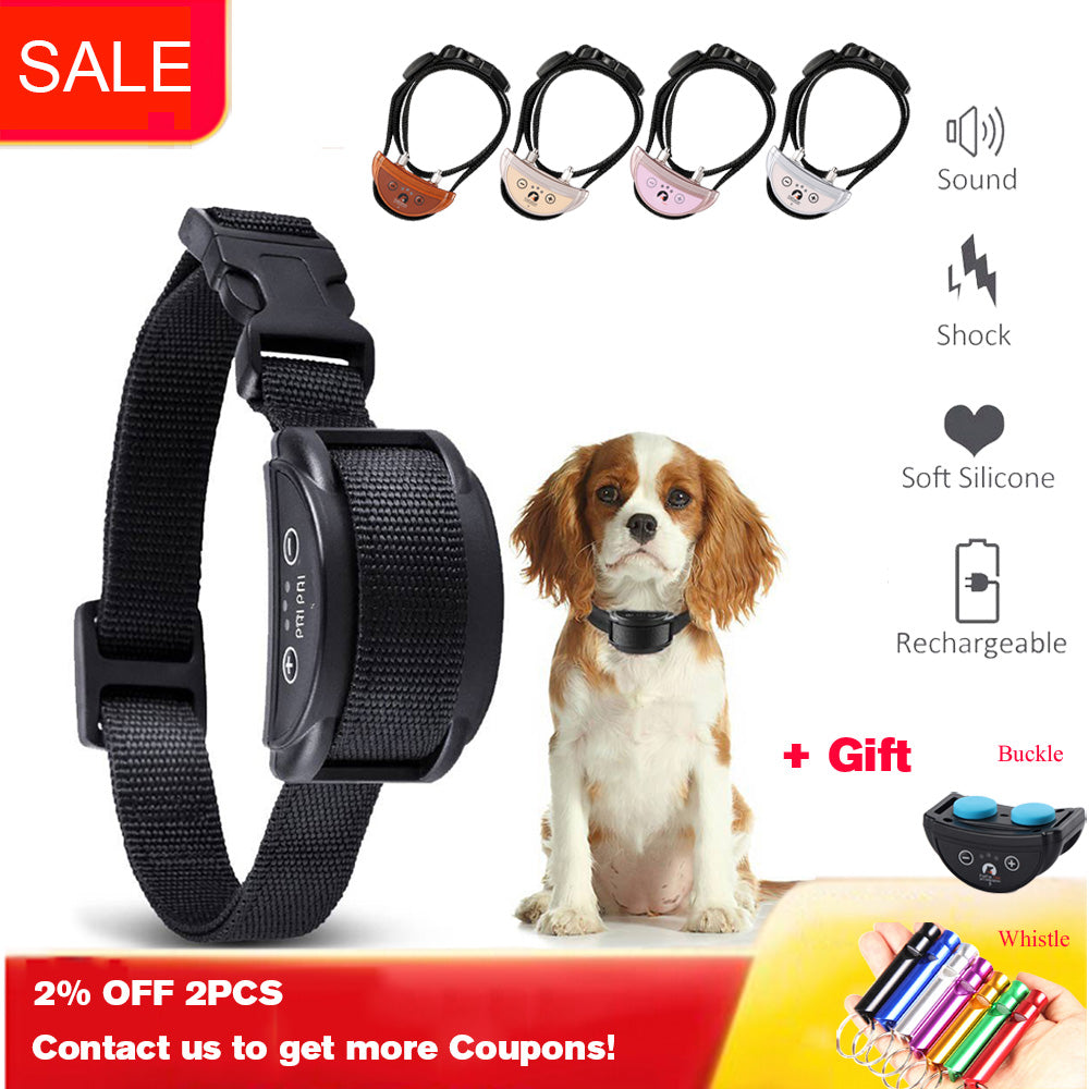 Rechargeable 5 Levels Dog E-collar - asheers4u