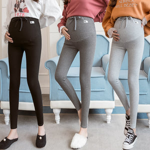 Maternity Leggings Ankle Pants Adjustable Waist Soft Pregnant Women Pregnancy Clothes Ropa Mujer Embarazada Premama Enceinte
