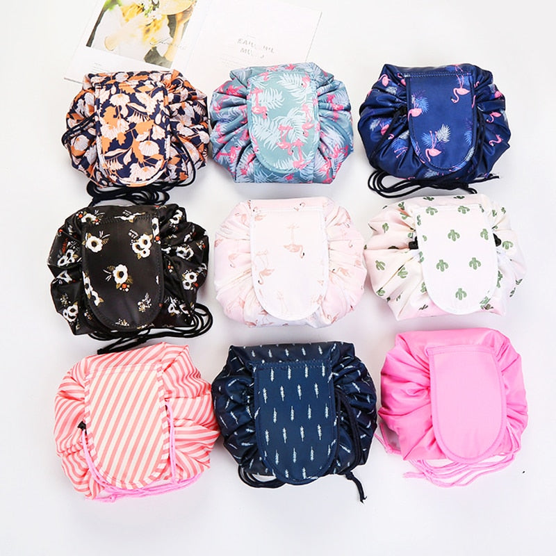 Women Drawstring Travel Cosmetic Bag - asheers4u