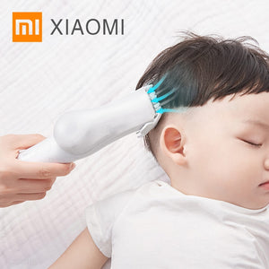 Xiaomi Noiseless Automatic Vacuum Hair Trimmer with Baby Hair Clipper - asheers4u