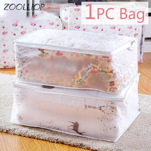 Storage Bags for Clothes Quilt Dust Organiser Bag - asheers4u