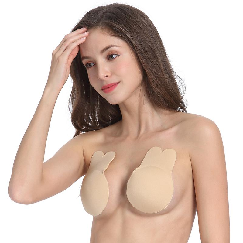Women Breast Petals Cute Rabbit Bra Nipple Covers - asheers4u
