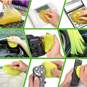 Multifunction Car Keyboard Air Vent Magic Soft Sticky Clean Glue Slime Dust Dirt Cleaner - asheers4u