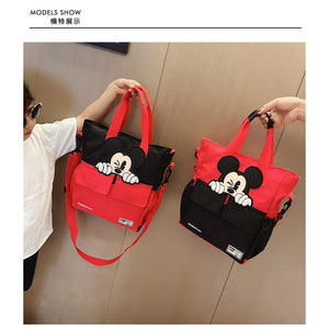 Disney Mickey mouse school College shoulder bag - asheers4u