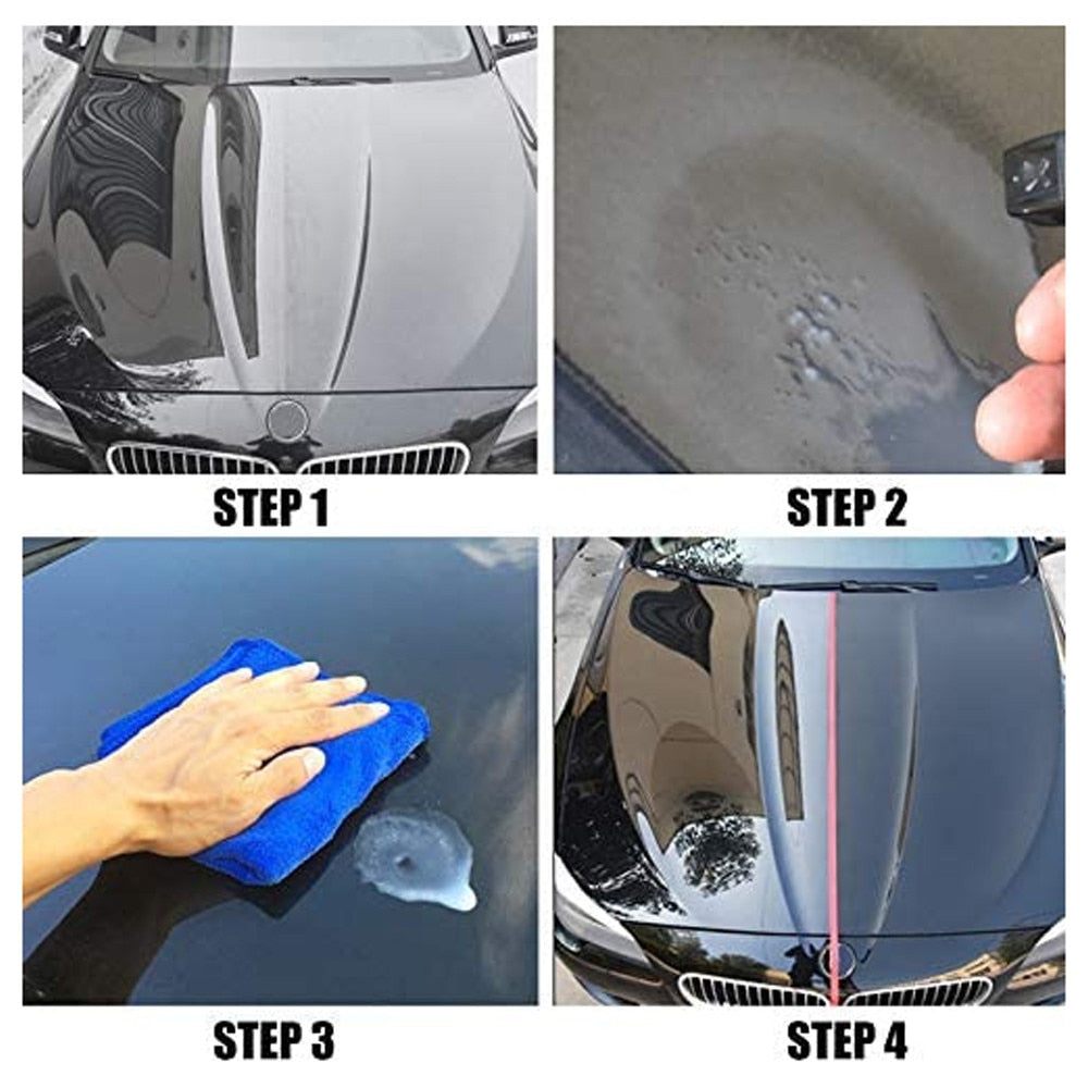 120ml Car Paint Care Nano Repairing Spray Oxidation Liquid Ceramic Coat Hydrophobic Glass Protect Your Car From Scratching Auto