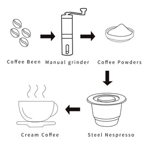 Reusable Capsule For Crema Espresso - asheers4u