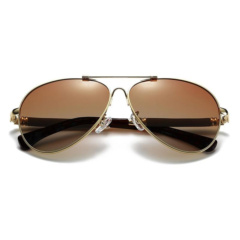 Polarized Men's Sun glasses Women Pilot UV400 Protection - asheers4u