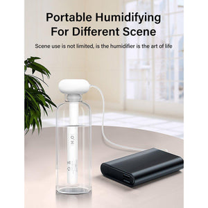 Home Office Portable USB Aroma Diffuser Car Mist Maker Ultrasonic Humidifiers - asheers4u