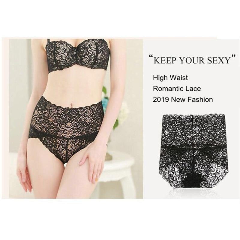 Lace Mesh Floral Lingerie (Plus Size available) - asheers4u