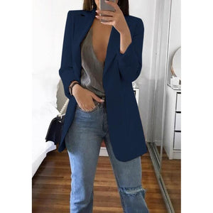 Medium Size Casual Women's Blazer - asheers4u
