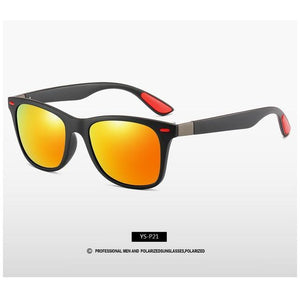 Polarized Square Frame Sun Glasses Male Goggle UV400 - asheers4u
