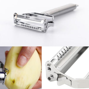Stainless Steel Multi-function Vegetable Peeler Potato Carrot - asheers4u