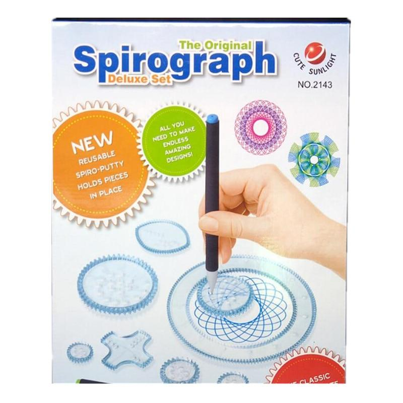 Spirograph Drawing Toys Set Educational Toy For children - asheers4u