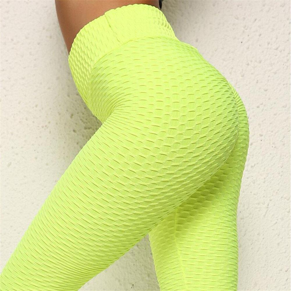 Women Yoga Pants Running Leggings High Waist Sportswear - asheers4u