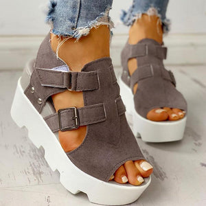 Wedge High Heels Casual Comfort - asheers4u