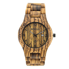 Wooden sandalwood watch