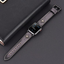 Load image into Gallery viewer, Watches,Cross nail vintage wristband,guiro,Zeinab Fashion.