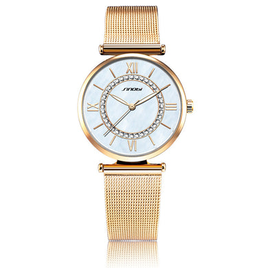 Watches,Ultra-thin mesh belt watch,guiro,Zeinab Fashion.