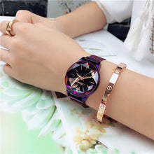 Load image into Gallery viewer, Watches,Star-cut face waterproof student watch,guiro,Zeinab Fashion.
