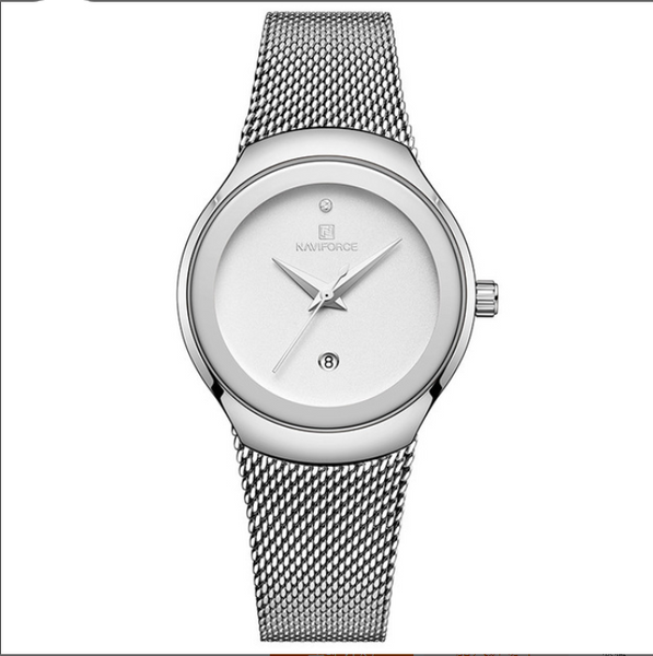 Quartz watch with small screen dial