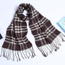 Load image into Gallery viewer, Scarfs & Scarves,New men and women scarves autumn and winter cotton plaid adult scarves winter hot scarves,guiro,Zeinab Fashion.