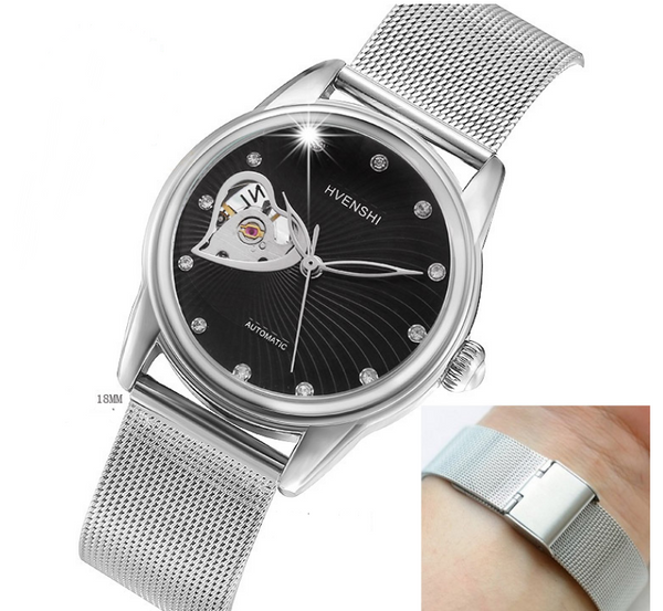 Full automatic business waterproof couple Watch