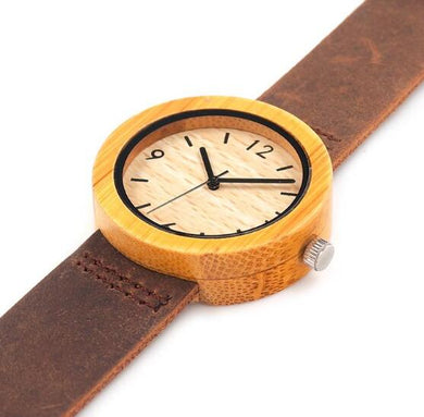 Watches,BOBO BIRD LADIES BAMBOO HANDMADE WOODEN WATCH,guiro,Zeinab Fashion.