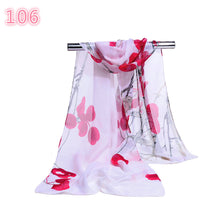 Load image into Gallery viewer, Scarfs & Scarves,Fashion Women Summer Long Soft Flower Scarf Sunscreen Beach Wrap Shawl Scarves,guiro,Zeinab Fashion.