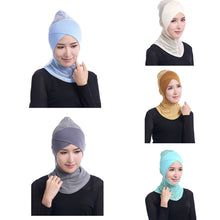 Load image into Gallery viewer, Scarfs & Scarves,Mesh Elastic Soft Modal Cross Hair Wrap Muslim Islamic Hijab Headwear Decor,guiro,Zeinab Fashion.