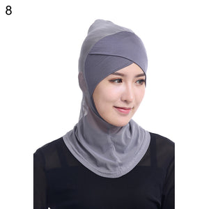 Scarfs & Scarves,Mesh Elastic Soft Modal Cross Hair Wrap Muslim Islamic Hijab Headwear Decor,guiro,Zeinab Fashion.