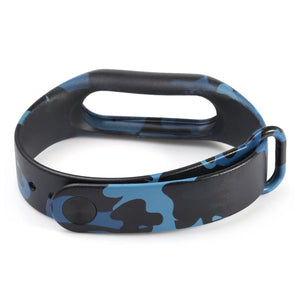 Watch Bands,Fashion Camouflage Pattern Watch Strap for Xiaomi Mi Band 2,guiro,Zeinab Fashion.