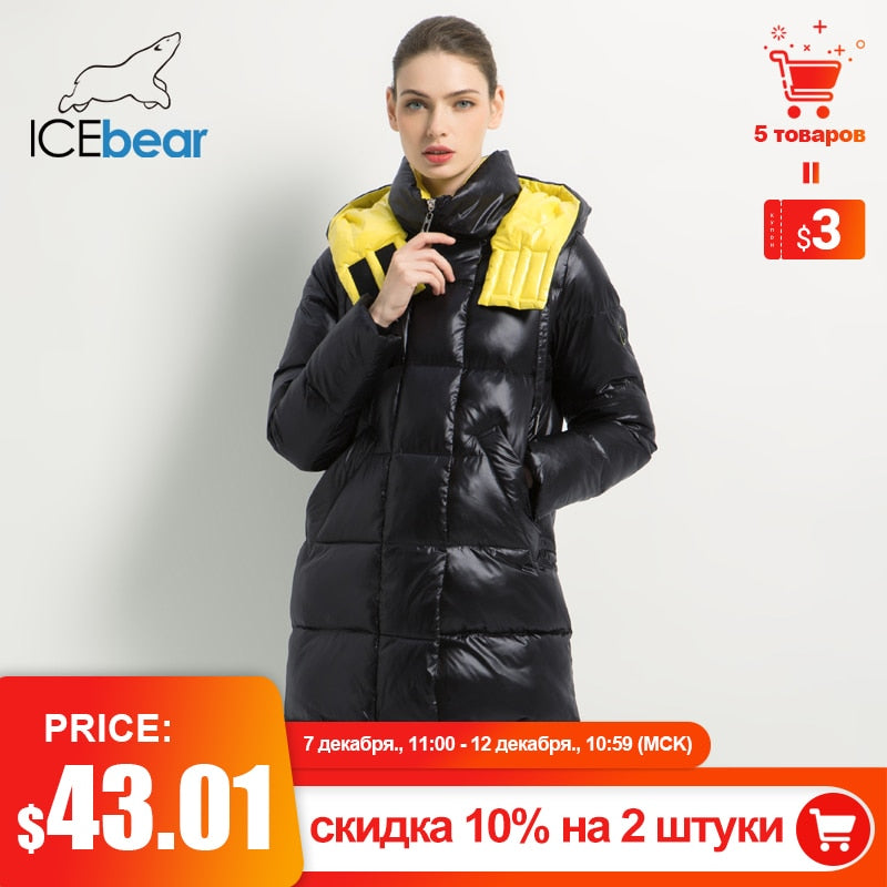 ,2020 New Winter Women Jacket Fashion Woman Cotton High Quality Female Parkas Hooded Women's Coats Brand Clothing,guiro,FreeDropship.