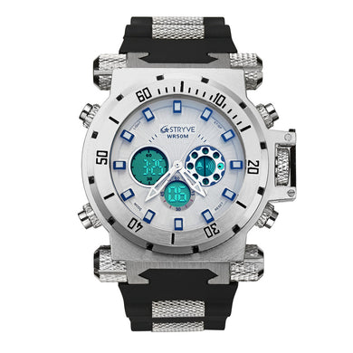 Watches,STRYVE multi-function waterproof sports watch,guiro,Zeinab Fashion.