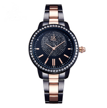 Load image into Gallery viewer, Watches,Shengke Rose Gold Watch,guiro,Zeinab Fashion.