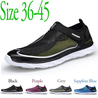 2019 upstream shoes men outdoor wading beach shoes outdoor net shoes men's upstream shoes