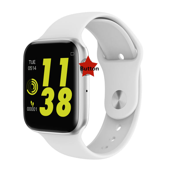 Heart rate electrocardiograph step watch