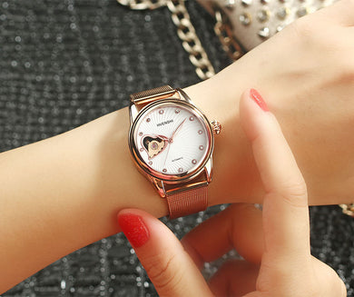 Watches,Full automatic business waterproof couple Watch,guiro,Zeinab Fashion.