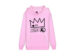 Load image into Gallery viewer, Clothing,River Valley Town jughead Riverdale Crown Hooded Sweatshirt,guiro,Zeinab Fashion.