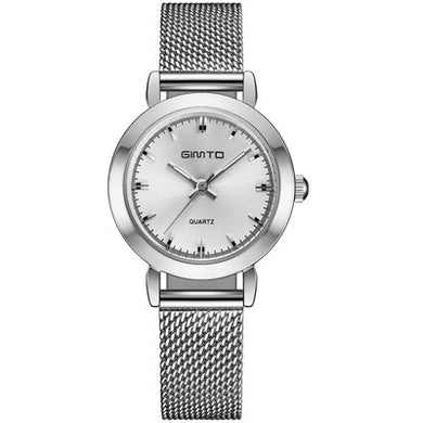 Watches,GIMTO Brand Women Quartz Silver Watch Metal Bracelet Wrist Watches Analog Ladies Dress Hand Clock Montre Femme,guiro,Zeinab Fashion.