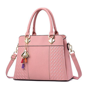 Handbags,Womens Handbags and Purses Fashion Top Handle Satchel Tote PU Leather Shoulder Bags,guiro,Zeinab Fashion.