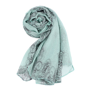 Scarfs & Scarves,Hot Sell 2018 Women Lady Classical Print Scarf Scarves Sun Protection Gauze Kerchief GN,guiro,Zeinab Fashion.