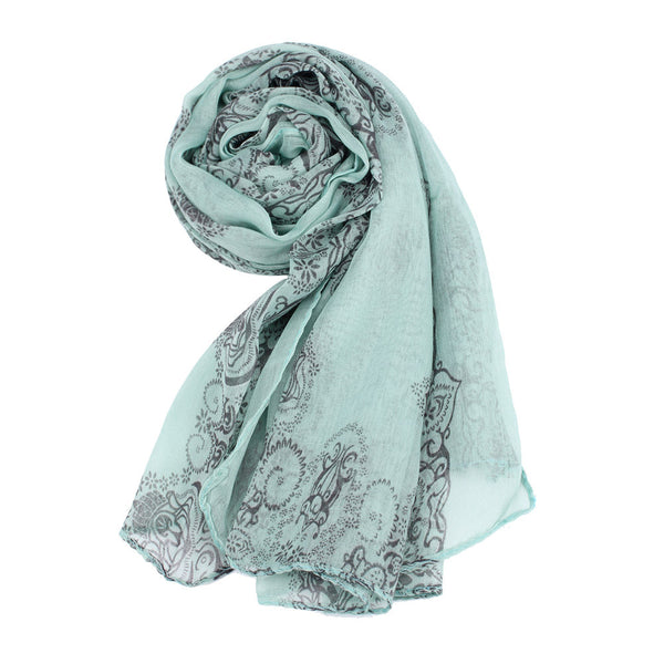 Hot Sell 2018 Women Lady Classical Print Scarf Scarves Sun Protection Gauze Kerchief GN