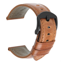 Load image into Gallery viewer, Watches,Calfskin watch strap,guiro,Zeinab Fashion.