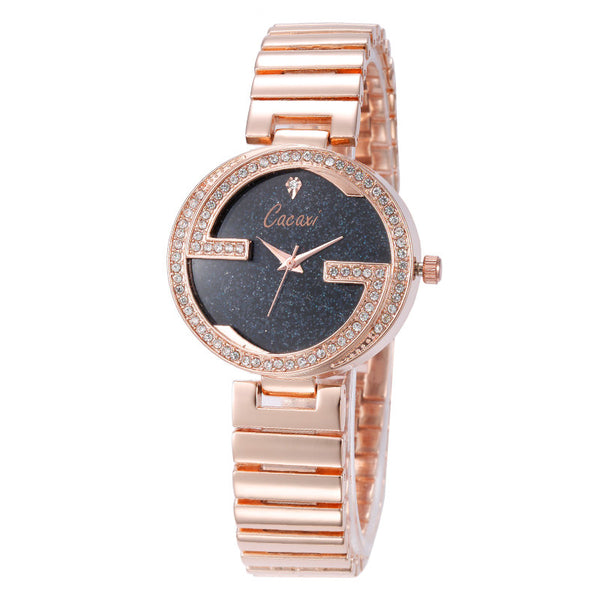 Luxury Rose Gold Women Watches