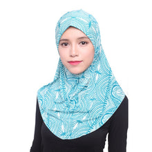 Load image into Gallery viewer, ,Beauty Muslim Hijab Islamic Jersey Turban Women Black Ninja Underscarf Caps Instant Head Scarf Full Cover Inner Coverings hats,guiro,Zeinab Fashion.