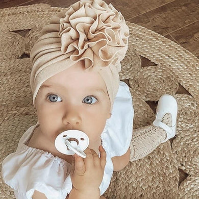 200003831,Flower Baby Hat Toddler Turban 6m-18m Infant Headwraps Kids Bonnet Newborn Toddler Beanie Cap,guiro,Cosmiz.