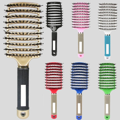 200001332,Girls Hair Scalp Massage Comb Hairbrush Bristle Nylon Women Wet Curly Detangle Hair Brush for Salon Hairdressing Styling Tools,guiro,Cosmiz.